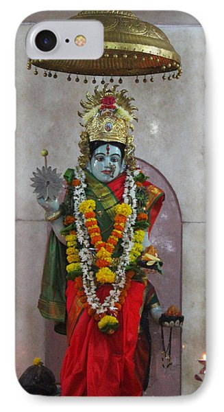 Downtown Ganeshpuri Durga Temple IPhone Case