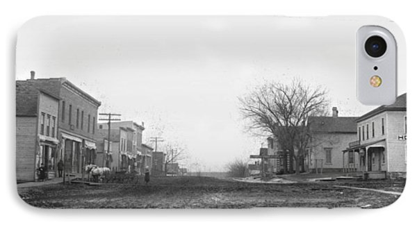 Downtown Hudson Iowa IPhone Case
