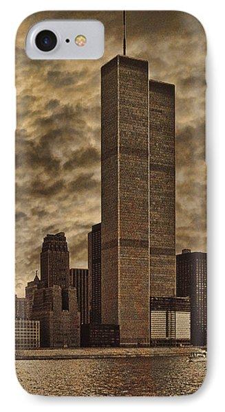 Downtown Manhattan Circa Nineteen Seventy Nine  Phone Case by Chris Lord