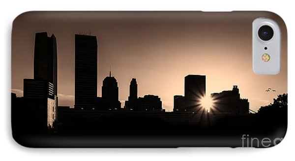 IPhone Case featuring the photograph Downtown Oklahoma City by Betty LaRue