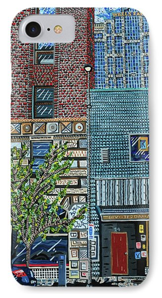 Downtown Raleigh - West Martin Street Phone Case by Micah Mullen