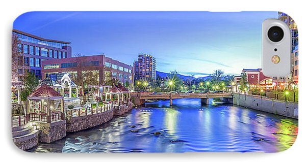 Downtown Reno Summer Twilight IPhone Case by Scott McGuire