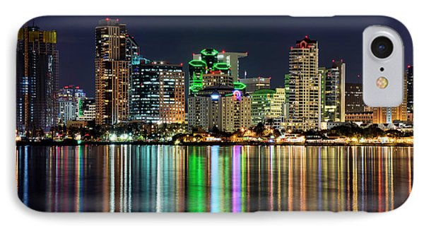 IPhone Case featuring the photograph Downtown San Diego by Eddie Yerkish