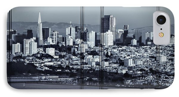 Downtown San Francisco IPhone Case by Doug Sturgess