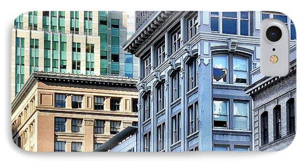 Downtown San Francisco IPhone Case by Julie Gebhardt