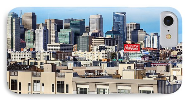 Downtown San Francisco Phone Case by Kelley King