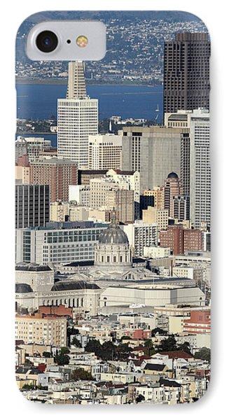 Downtown San Francisco Phone Case by Pierre Leclerc Photography