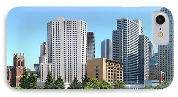 IPhone Case featuring the photograph Downtown San Fransisco by Mike McGlothlen