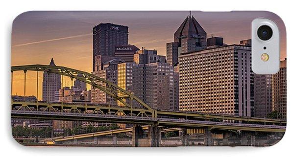 Downtown Steel IPhone Case by Rick Berk