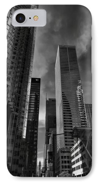 IPhone Case featuring the photograph Downtown Toronto 005 by Lance Vaughn