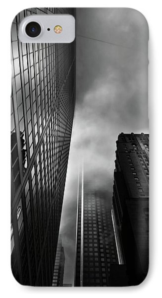 Downtown Toronto Fogfest No 4 Phone Case by Brian Carson