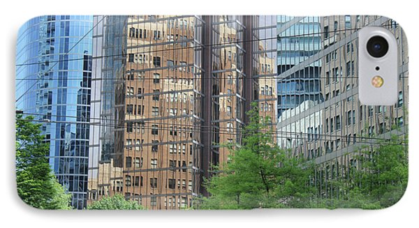 Downtown Vancouver IPhone Case by Wilko Van de Kamp