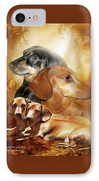 Doxies - Dappled In Sunshine IPhone Case