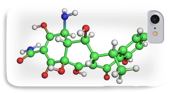 Doxycycline Antibiotic Molecule Phone Case by Dr Tim Evans