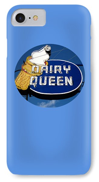 Dq Cone Sign Phone Case by Ethna Gillespie