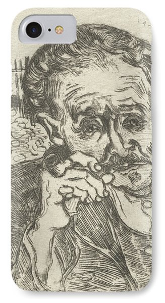 Dr. Gachet Man With A Pipe 1890 IPhone Case