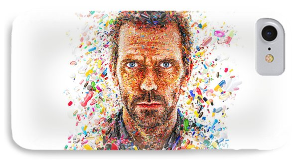 Dr House IPhone Case by Hans Wolfgang Muller Leg