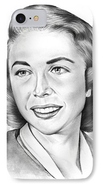 Dr. Joyce Brothers IPhone Case by Greg Joens