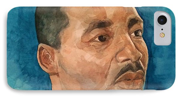 Dr. King IPhone Case by Nigel Wynter