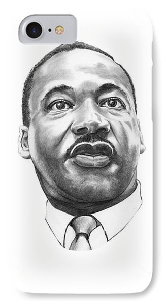 Dr. Martin Luther King Phone Case by Murphy Elliott