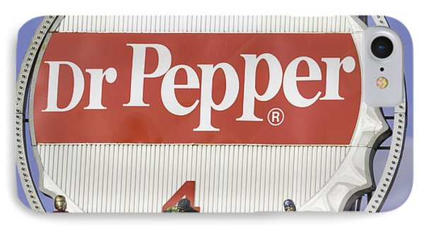 Dr Pepper And The Avengers Squared IPhone Case by Keith Mucha