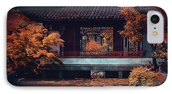 Dr. Sun Yat-sen Garden IPhone Case by Maria Angelica Maira