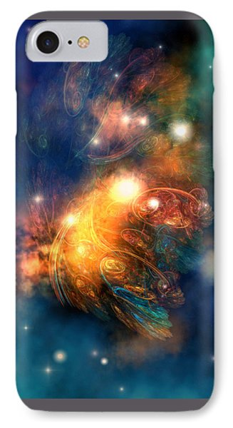 Draconian Nebula Phone Case by Corey Ford