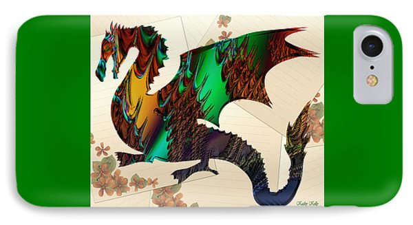 Drago IPhone Case by Kathy Kelly