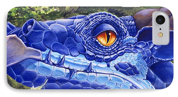 Dragon Eyes Phone Case by Melissa A Benson
