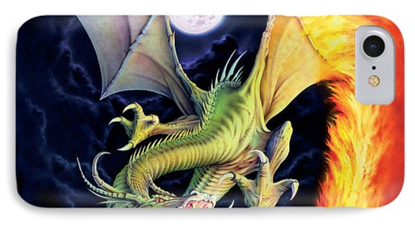 Dragon Fire IPhone Case by The Dragon Chronicles