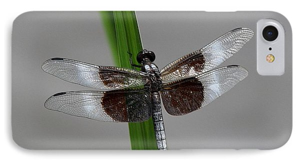 IPhone Case featuring the photograph Dragon Fly by Jerry Battle