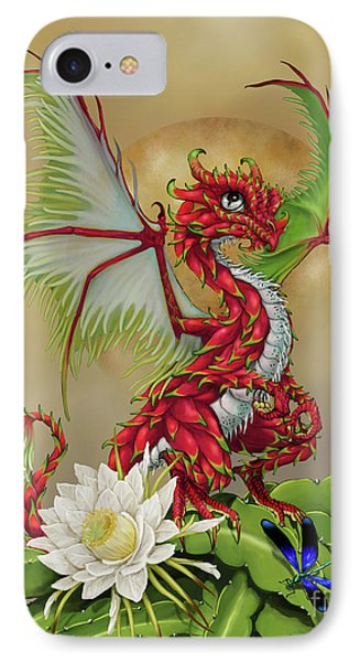 IPhone Case featuring the digital art Dragon Fruit Dragon by Stanley Morrison