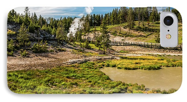 Dragon Geyser At Yellowstone IPhone Case by Hyuntae Kim
