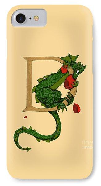 Dragon Letter D 2016 IPhone Case