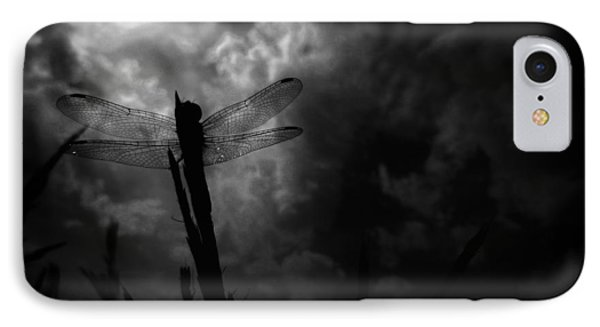 Dragon Noir IPhone Case by Tim Good