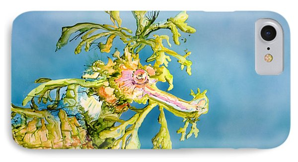 Dragon Of The Sea IPhone Case by Tanya L Haynes - Printscapes