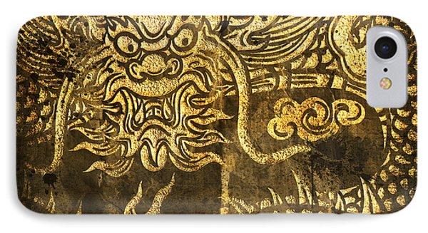 Dragon Pattern Phone Case by Setsiri Silapasuwanchai