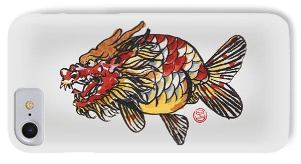 Dragon Ranchu IPhone Case by Shih Chang Yang
