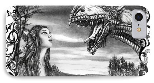 Dragon Whisperer  Phone Case by Peter Piatt