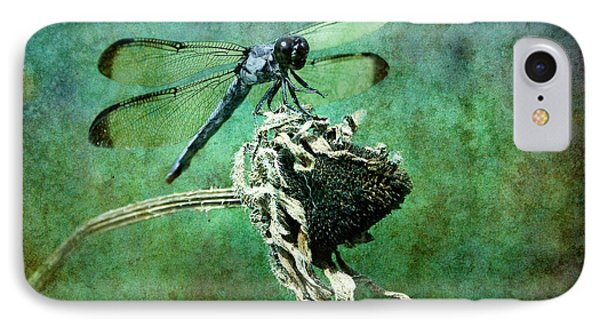 Dragonfly Art Phone Case by Sari Sauls