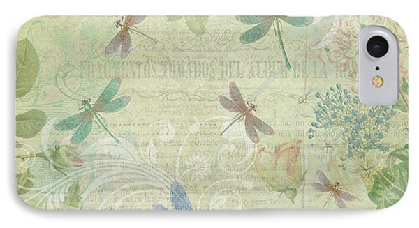 Dragonfly Dream IPhone Case by Peggy Collins