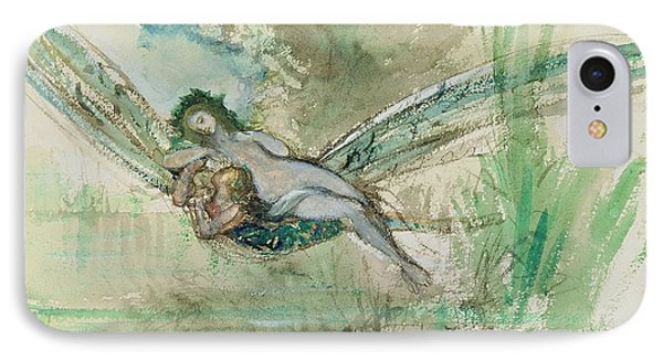 Dragonfly IPhone Case by Gustave Moreau
