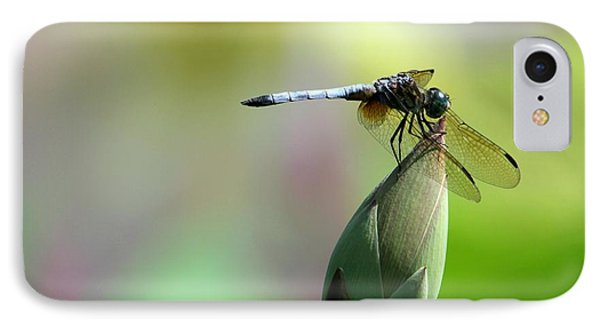 Dragonfly In Wonderland Phone Case by Sabrina L Ryan