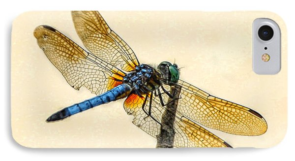 Dragonfly IPhone Case by Jim Moore