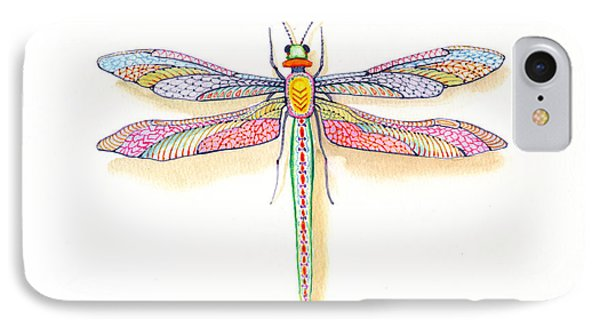 Dragonfly IPhone Case by John Norman Stewart