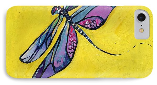 Dragonfly IPhone Case by Kim Heil