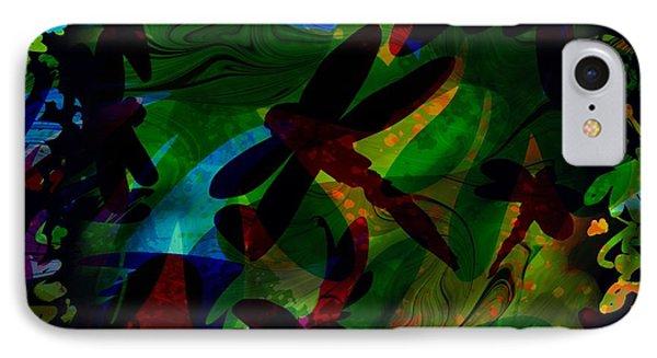 Dragonfly Phone Case by Rachel Christine Nowicki