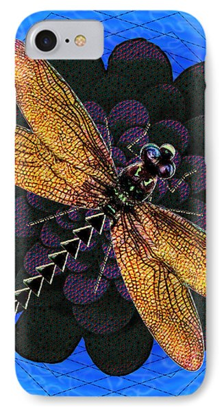 Dragonfly Snookum IPhone Case by Iowan Stone-Flowers