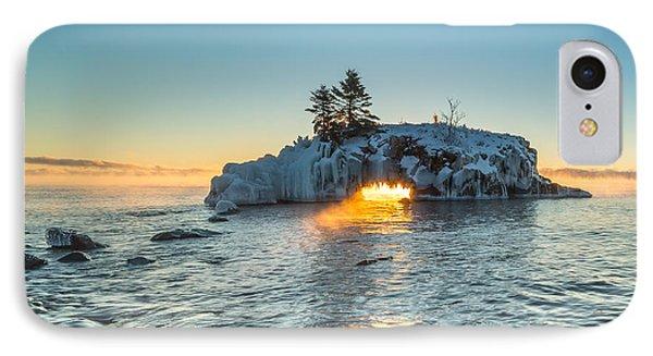 Dragon's Breath  // North Shore, Lake Superior IPhone Case by Nicholas Parker