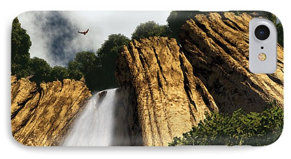 Dragons Den Canyon IPhone 7 Case by Richard Rizzo